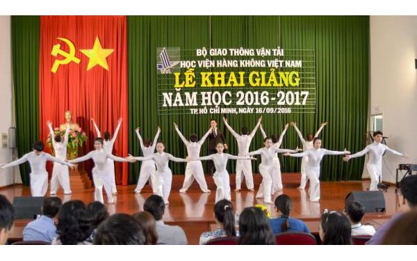 Học viện HKVN tổ chức Lễ khai giảng năm học 2016 – 2017