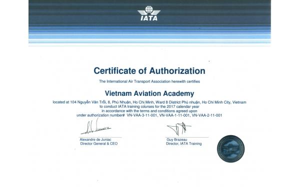 Giấy phép IATA
