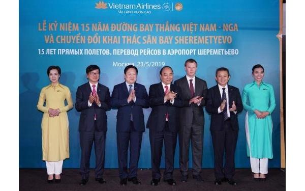 Mở đường bay thẳng Việt - Nga, khách Vietnam Airlines tăng gấp 10