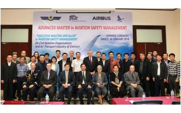 Khóa đào tạo Chuyên gia cao cấp chuyên ngành Quản lý an toàn hàng không