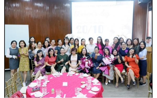 Học viện Hàng không tổ chức buổi giao lưu gặp mặt kỷ niệm ngày Phụ Nữ Việt Nam 20/10/2020