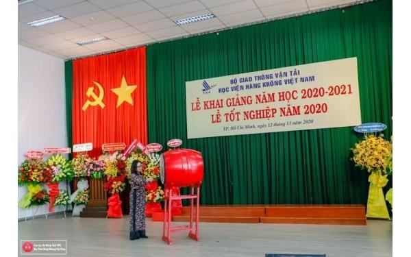 Học viện Hàng không Việt Nam tổ chức Lễ Khai giảng năm học mới 2020-2021 và Lễ Trao bằng Tốt nghiệp năm 2020